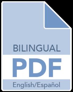 Bilingual PDF in English and Español