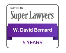 SuperLawyers_WDavidBernard_5years