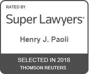 SuperLawyers_HenryPaoli_2018